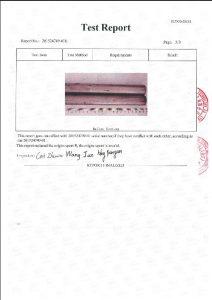 Сертификат за A453 660B 3