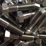 никел легура 600 m 2.4816 столпчиња со завртки за завртки на димензии din931chinese