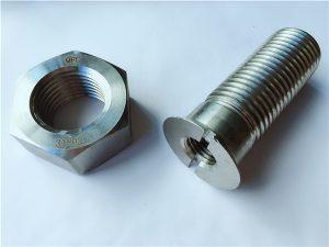 Бр.55-висококвалитетни дуплекс 2205 завртки и ореви од не'рѓосувачки челик