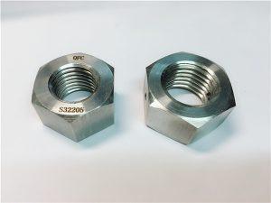Бр.76 Дуплекс 2205 F53 1.4410 S32750 сврзувачки елементи од не'рѓосувачки челик тежок хексадецитен орев