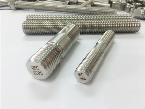 дуплекс 2205 s32205 2507 s32750 1.4410 прицврстувач за висококвалитетен хардвер, дрвена навојна шипка