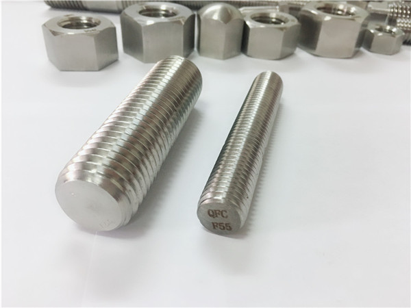 f55 / zeron100 сврзувачки елементи од не'рѓосувачки челик целосна навојна шипка s32760