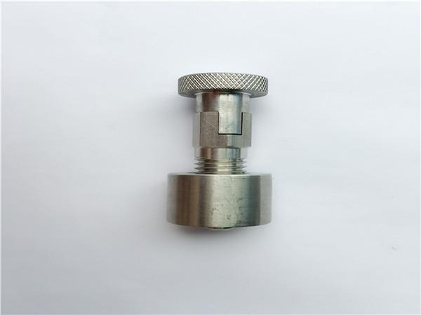 ss304, 316l, 317l, ss410 валјак за превоз со тркалезна орев, нестандардни сврзувачки елементи