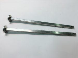 снабдувач за прицврстување на хардвер 316 нерѓосувачки челик со рамна плоштад со врата din603 m4, завртка за превоз