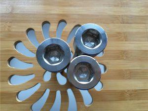 висококвалитетен ASEM hex приклучок титаниум gr2 завртка / завртка / орев / мијалник /