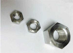 Дуплекс 2205 / F55 / 1.4501 / S32760 сврзувачки елементи од не'рѓосувачки челик тежок хексадецитен орев М20